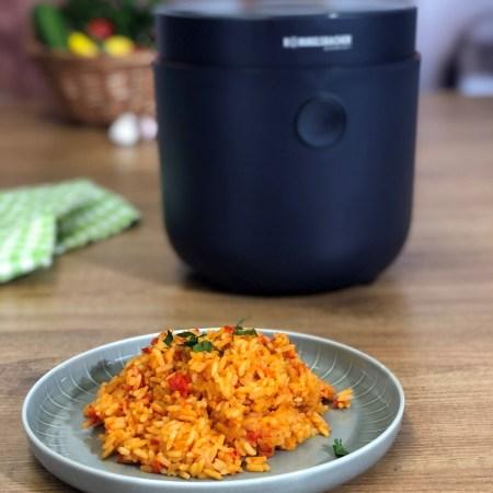 Paprikareis - Rezept für den Multi Reiskocher Risa MRK 500 von Rommelsbacher