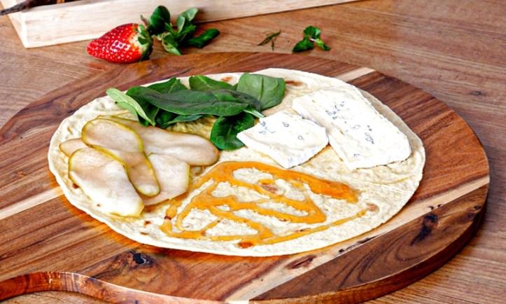 Gourmet Wrap - Rezept-Bild aus: 5 x gegrillte Tortilla Wraps (Der Wrap-Hack)