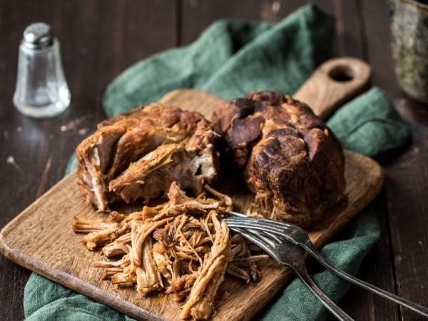 Pulled Pork - schnell gemacht im Multikocher MeinHans