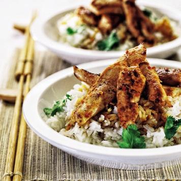Thailändische Hühnchenbrust - Nr 3 von 5 asiatische Grillrezepte - Grillen im Asia Style