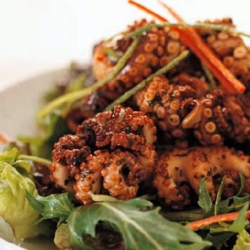 Tintenfisch gegrillt - Nr. 1 der  5 asiatische Grillrezepte - Grillen im Asia Style