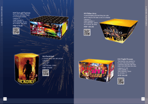 Hallmark fireworks catalogue