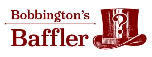 Bobbington's Baffler logo design
