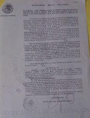 6. Sentencia Juez Segundo de Distrito del Estado de Oaxaca.