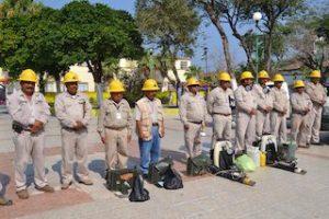 25 Marzo 2015 Banderazo Operativo CHIKV DENGUE en Juchitán