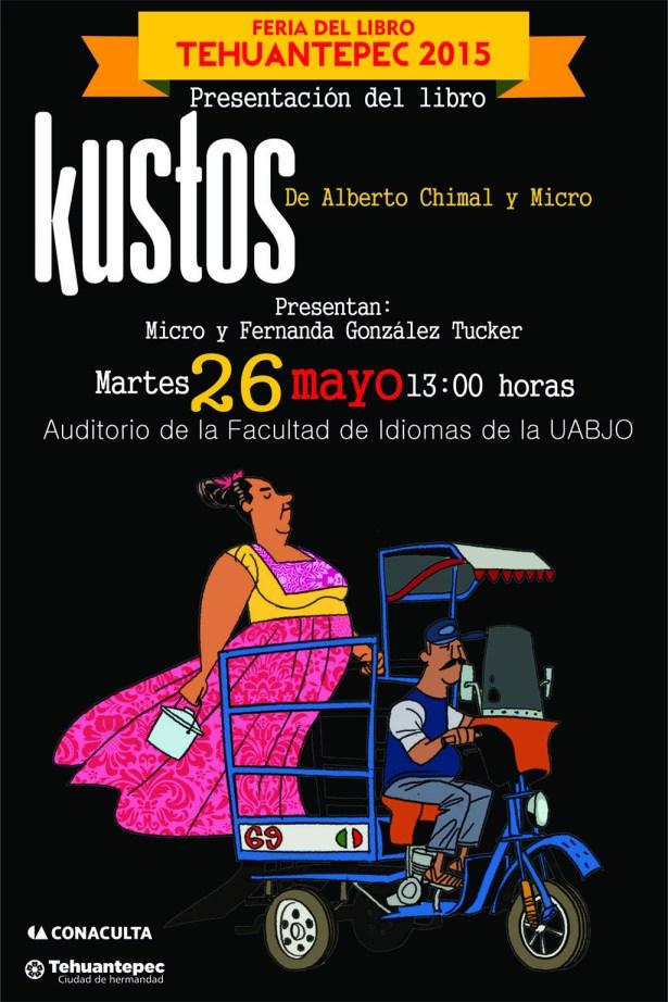 26 Mayo flyer KUSTOS micro