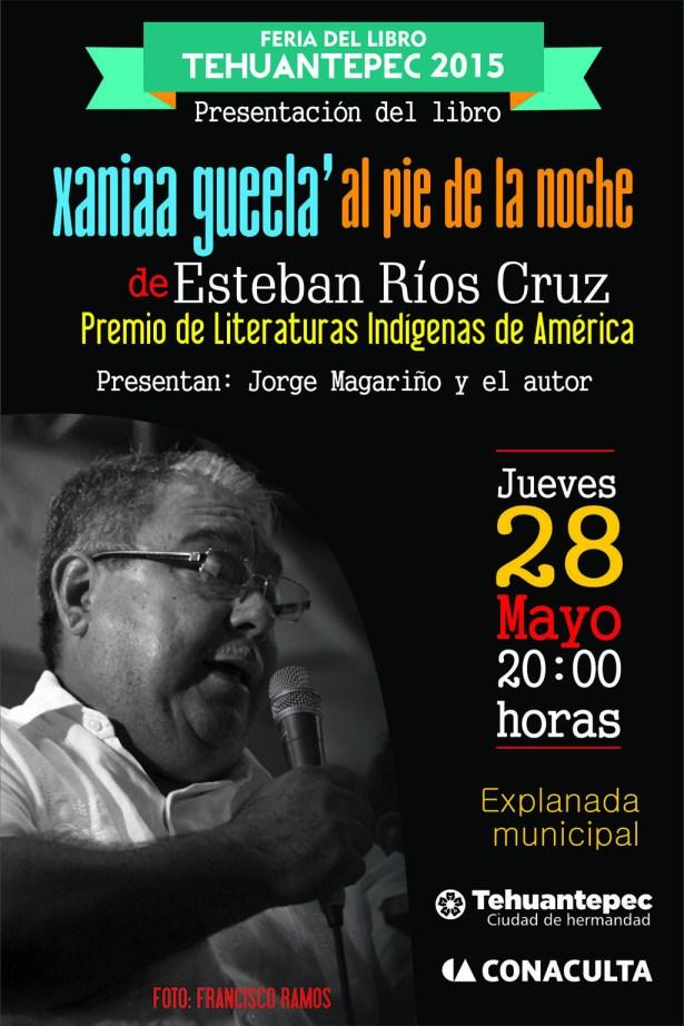 28 Mayo flyer ESTEBAN RÃ-OS