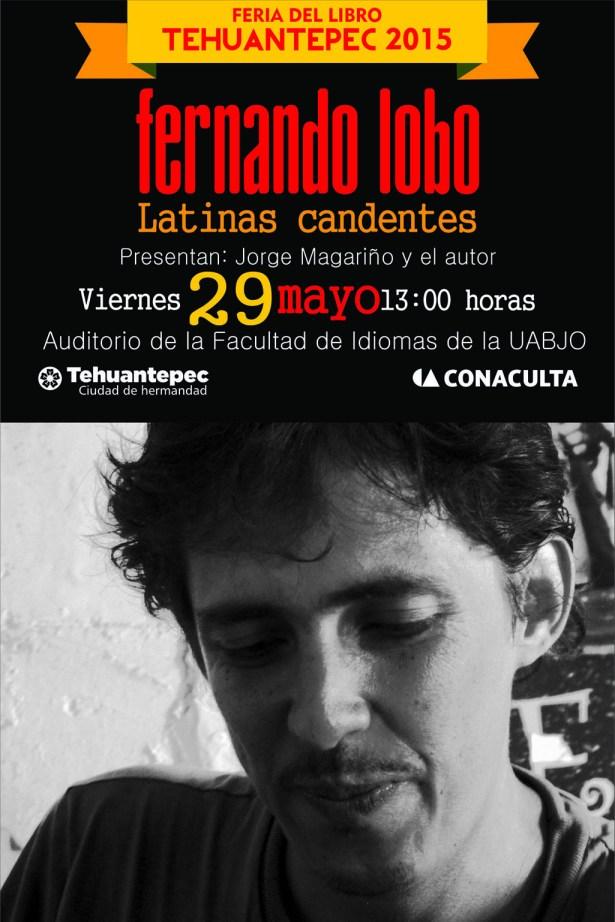 29 Mayo flyer FERNANDO LOBO