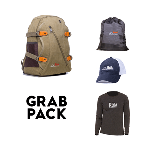 Backpack, RoM Outdoors, Outdoor Gear, Outdoor Backpacks, Hiking Gear, Hiking, Backpacking, 4 in 1