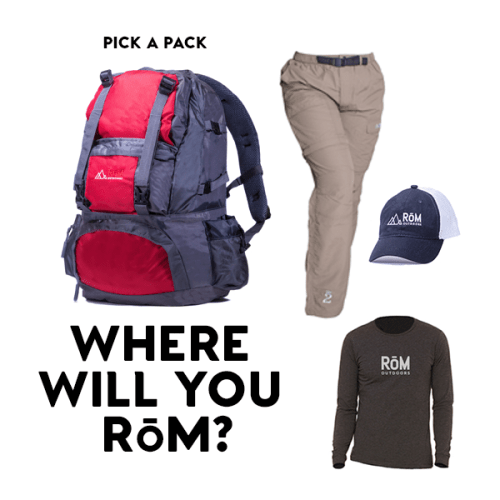 RoM Outdoors, Altitude Jacket, Backpacks, Hiking Gear, Transform Your Adventure