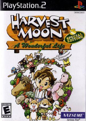 Harvest Moon Wonderful Life Iso : harvest, wonderful, Harvest, Wonderful, Special, Edition, Download, Playstation, (USA)