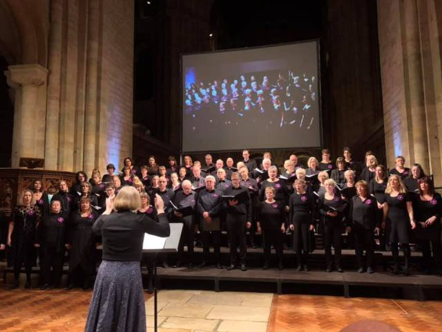 Romsey Voices at Five Choirs Concert