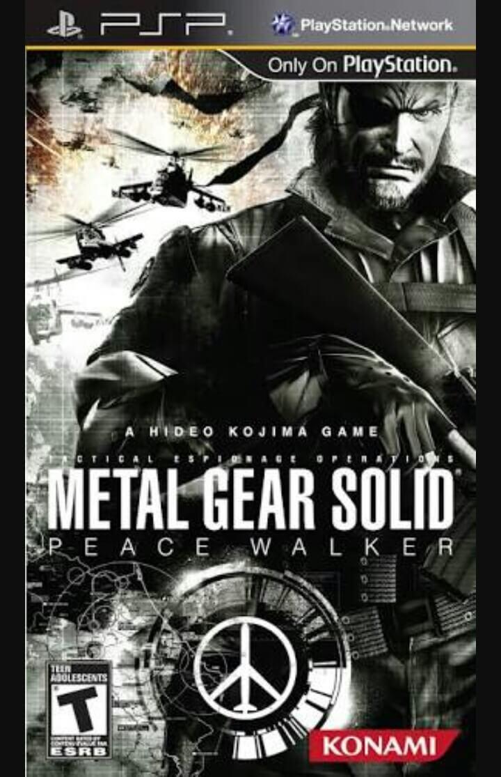 Metal Gear Solid Peace Walker Iso : metal, solid, peace, walker, Metal, Solid, Peace, Walker, Download