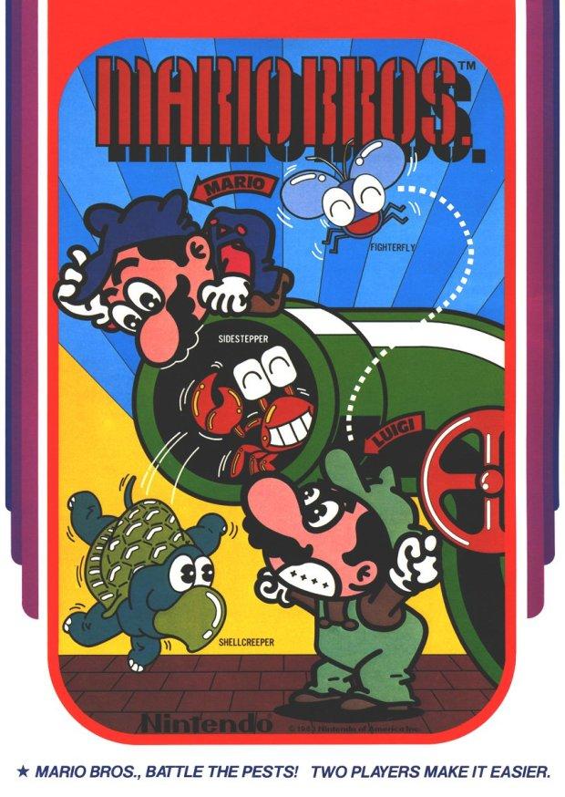 Mario Bros. (1983)(Nintendo) (USA) Game Download Atari 800