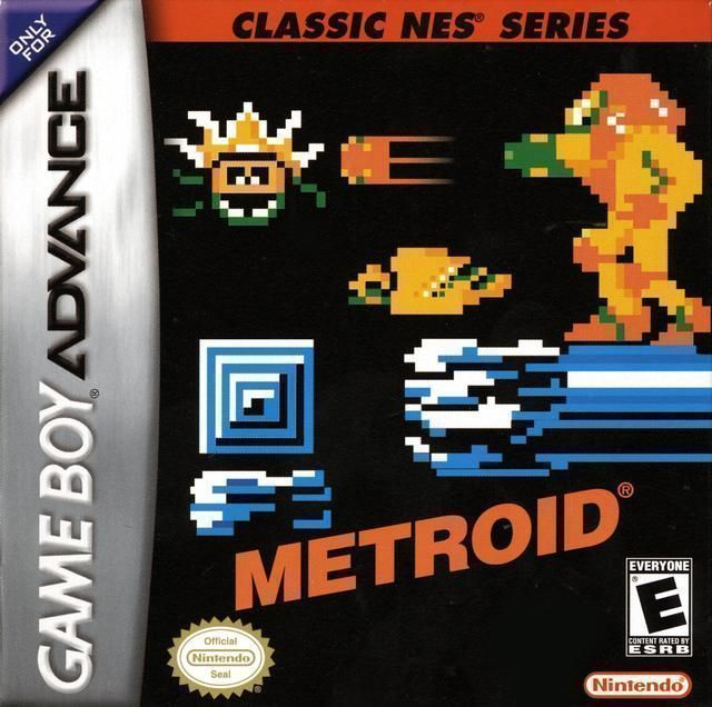 Metroid Fusion (USA) Game Cover