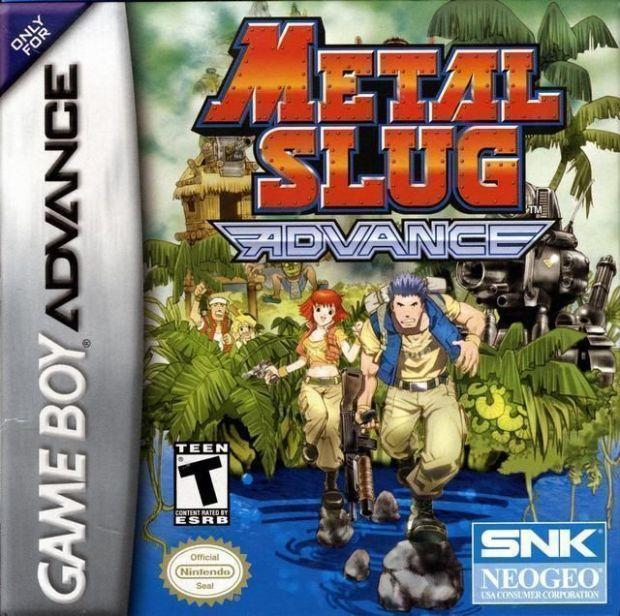 Metal Slug Advance (USA) Game Download Gameboy Advance