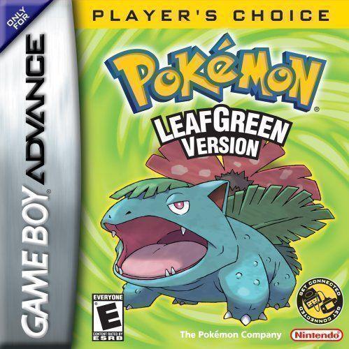 Pokemon - Leaf Green Version (V1.1) (USA) Game Cover