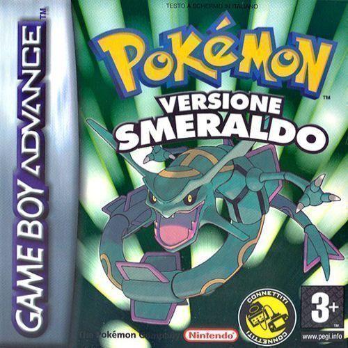 Pokemon - Versione Smeraldo (Pokemon Rapers) (Italy) Game Cover