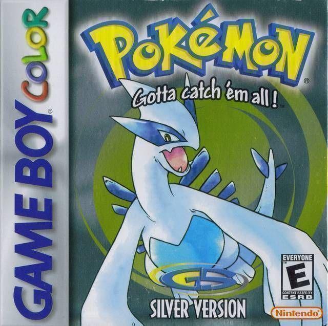 Pokemon - Silver Version (USA Europe) Game Cover