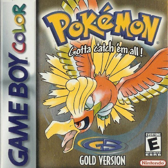 Pokemon - Gold Version (USA Europe) Game Cover