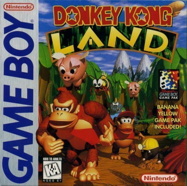 Donkey Kong Land (USA) Game Download Gameboy