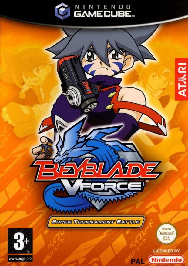 Beyblade VForce Super Tournament Battle (Europe) Game Download GameCube