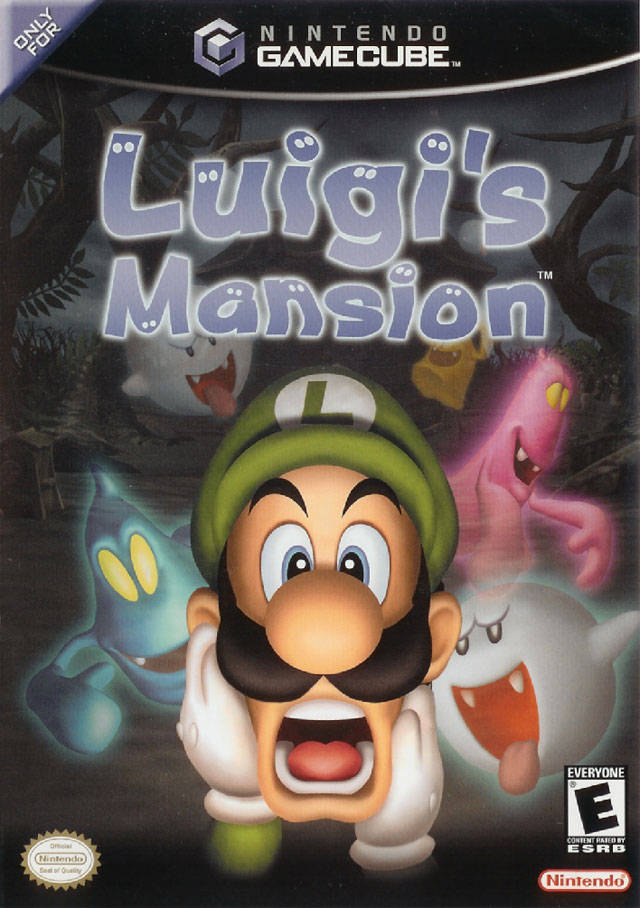Luigi's Mansion (USA) Game Cover