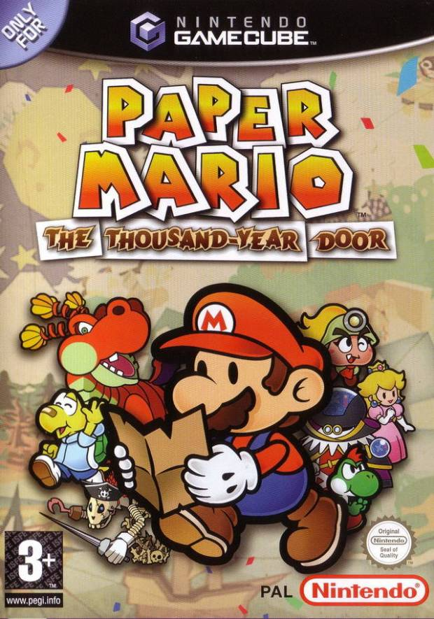 Paper Mario The Thousand Year Door (Europe) Game Download GameCube