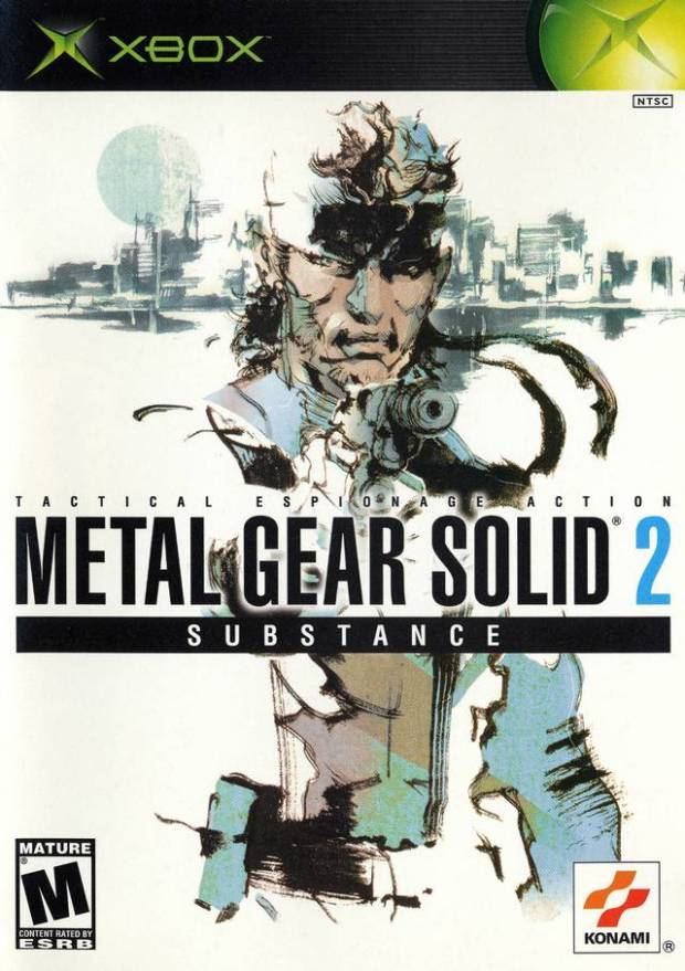 Metal Gear Solid 2 Substance (USA) Game Download Microsoft Xbox