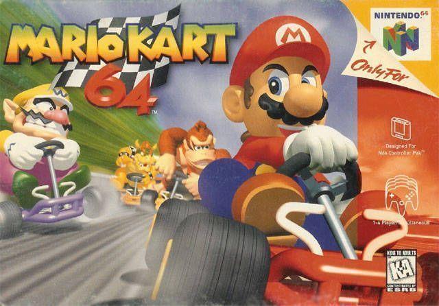 Mario Kart 64 (V1.1) (Europe) Game Cover