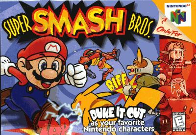 Super Smash Bros. (USA) Game Cover