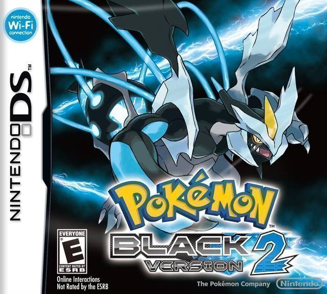 Pokemon - Black 2 (Patched-and-EXP-Fixed) (USA) Game Cover