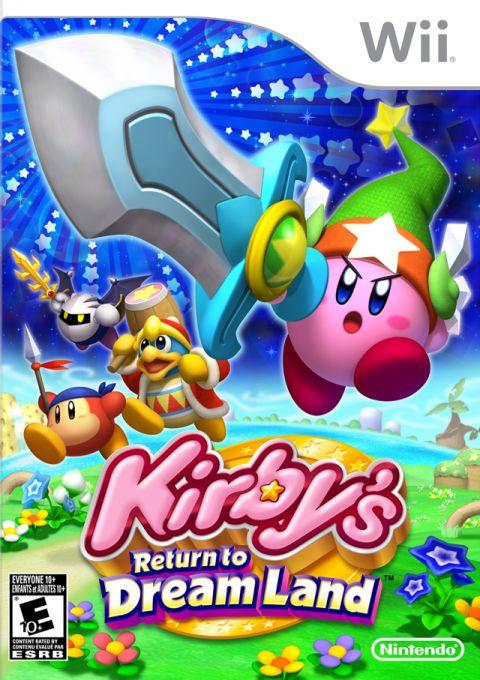 Kirby's Return To Dreamland (USA) Game Cover