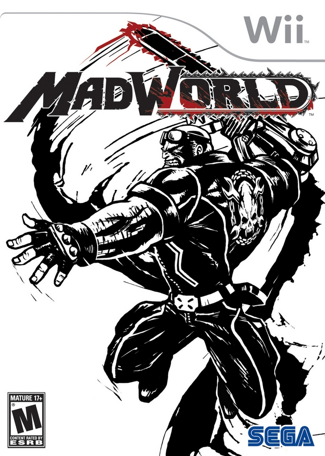 MadWorld (USA) Game Cover
