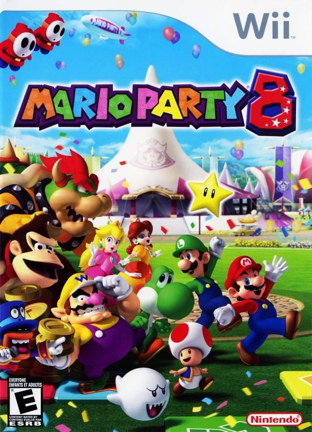 Mario Party 8 (USA) Game Cover