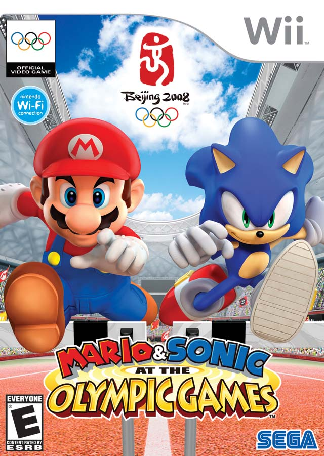 Mario & Sonic At The Olympic Games (USA) Game Cover