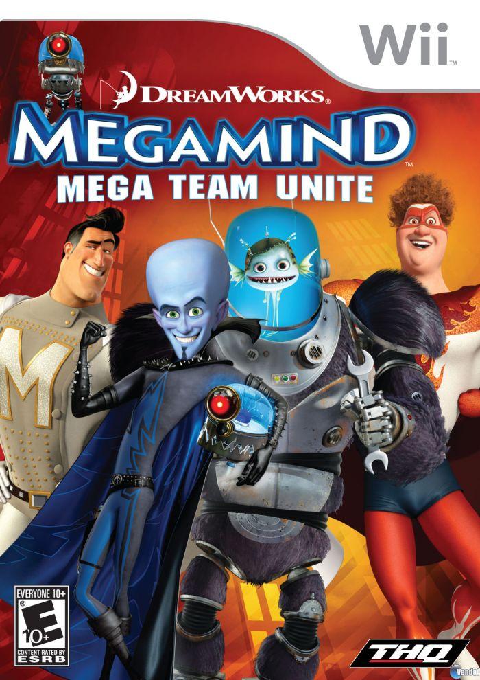 Megamind - Mega Team Unite (USA) Game Cover