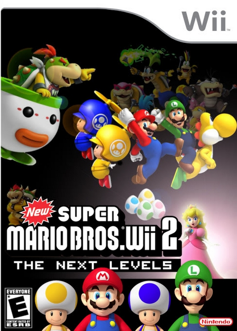 New Super Mario Bros Wii 2 – The Next Levels (USA) Game Download Nintendo Wii