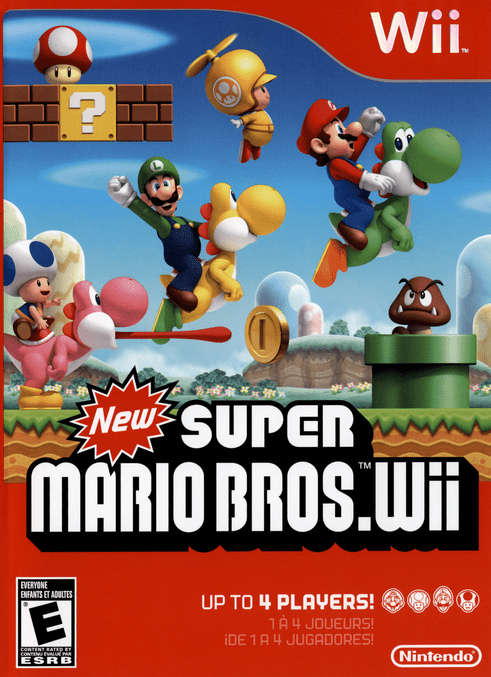 New Super Mario Bros Wii (USA) Game Download Nintendo Wii