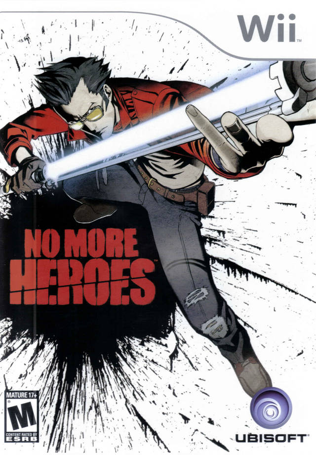 No More Heroes (USA) Game Cover