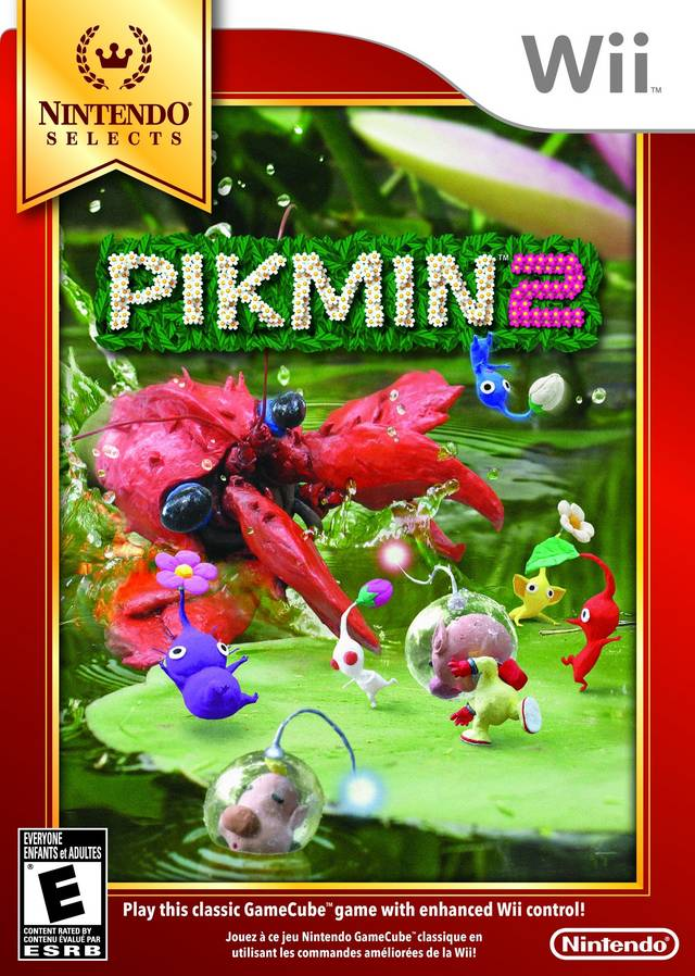 Pikmin 2 (USA) Game Cover