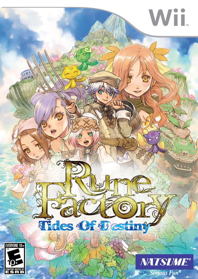 Rune Factory - Tides Of Destiny (USA) Game Cover