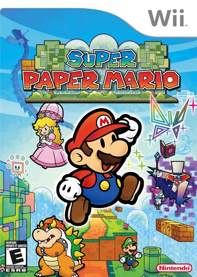 Super Paper Mario (USA) Game Cover