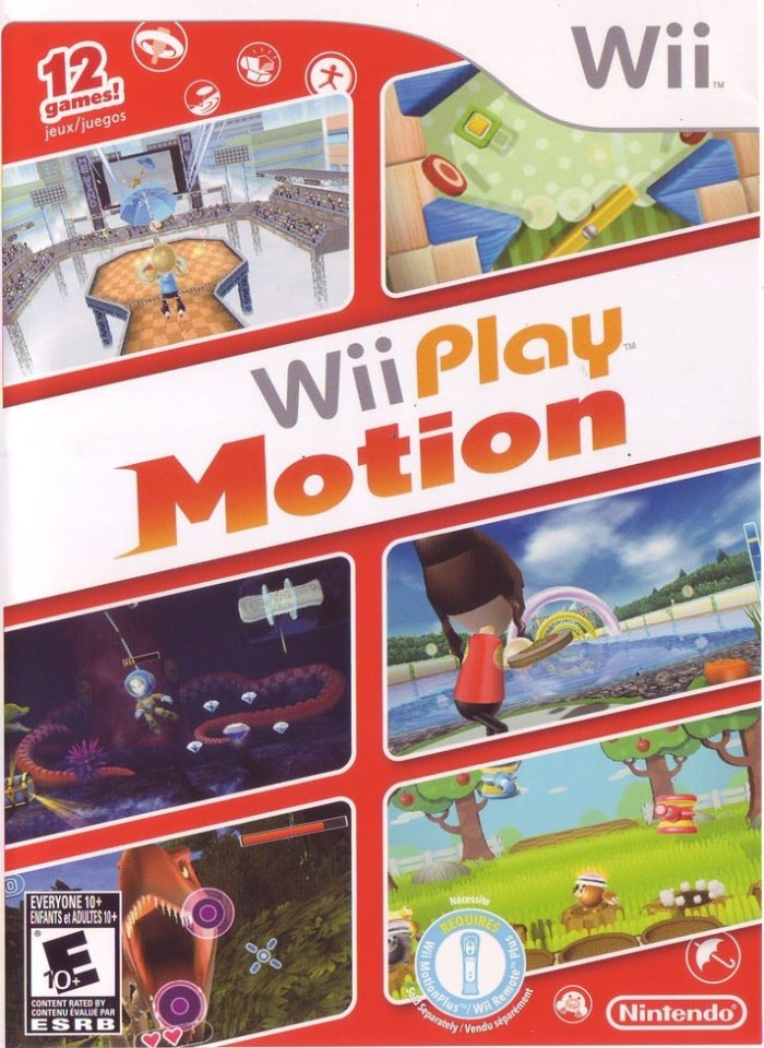 Wii Play Motion (USA) Game Cover