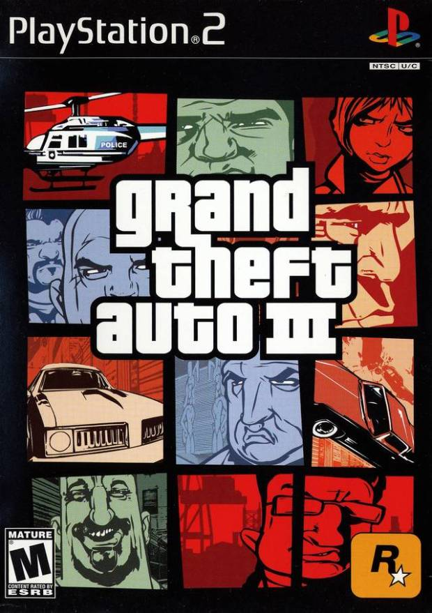 Grand Theft Auto III (USA) Game Download Playstation 2