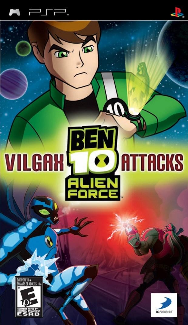 Ben 10 – Alien Force – Vilgax Attacks (USA) Game Download Playstation Portable