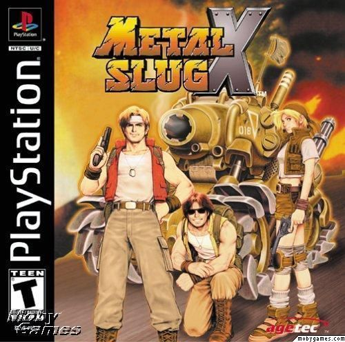 Metal Slug X [SLUS-01212] (USA) Game Download Playstation