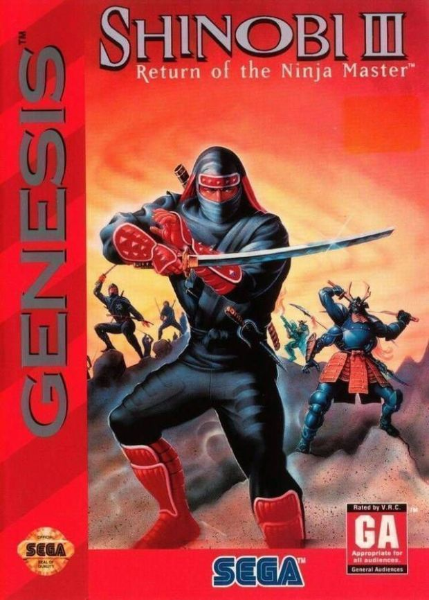 Shinobi 3 – Return Of The Ninja Master (USA) Game Download Sega Genesis