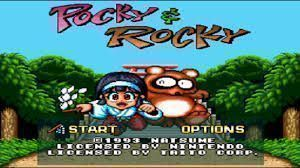 Pocky & Rocky - Sample Cart (NG-Dump Known) - Super Nintendo(SNES) ROM Download