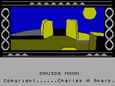 Druids Moon (1987)(Alternative Software) (USA) Game Download ZX Spectrum